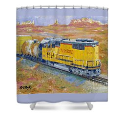 South West Union Pacific Shower Curtain