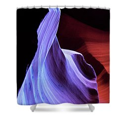Shower Curtain featuring the photograph South Wrest Color by Norman Hall
