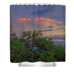 Shower Curtain featuring the photograph Southeast Of Sunset H38 by Mark Myhaver