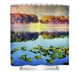 Shower Curtain featuring the photograph Southern Beauty by Debra and Dave Vanderlaan