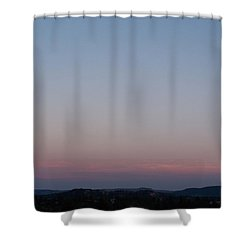 Southern Black Hills Moon Shower Curtain