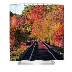 Southern Fall Shower Curtain