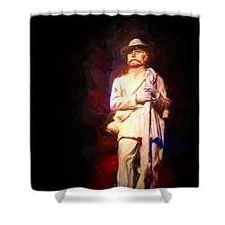 Southern Gent Shower Curtain by Ken Frischkorn