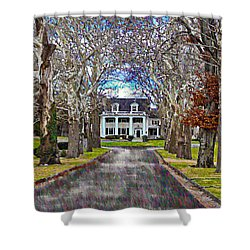 Southern Gothic Shower Curtain by Bill Cannon