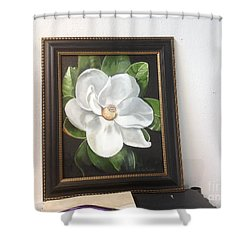 Southern Magnoila Shower Curtain