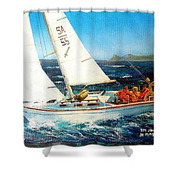 Southern Maid Shower Curtain