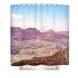 Southern Rim Shower Curtain