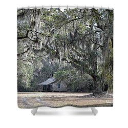 Southern Shade Shower Curtain by Al Powell Photography USA