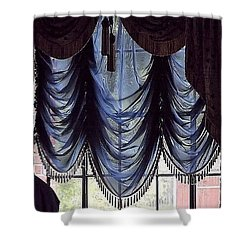Shower Curtain featuring the photograph Southern Style Evening Gown by John Glass
