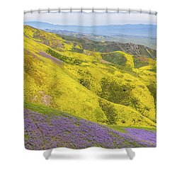 Shower Curtain featuring the photograph Southern View by Marc Crumpler