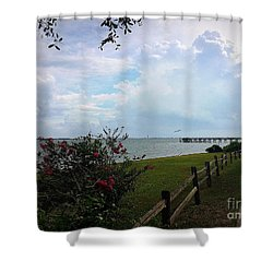 Southport - After The Rain Shower Curtain