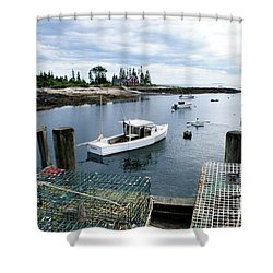 Southport Maine Shower Curtain