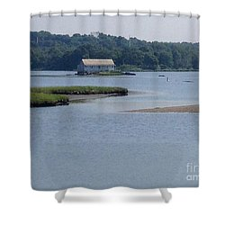 Southport View Shower Curtain