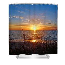 Southwest Florida Sunset Shower Curtain