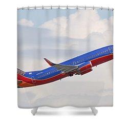 Southwest Jet Shower Curtain