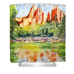 Southwest Reflections Shower Curtain
