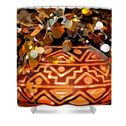 Southwest Vase Art Shower Curtain