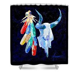 Southwestern Kitsch  Shower Curtain