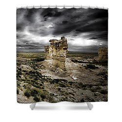 Southwestern Storm Shower Curtain