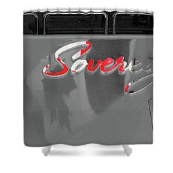 Shower Curtain featuring the photograph Sovereign Celebration by Rasma Bertz