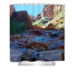 Sowats Creek Kanab Wilderness Grand Canyon National Park Shower Curtain