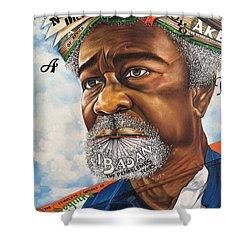 Soyinka An African Literary Icon Shower Curtain