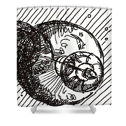 Space 1 2015 - Aceo Shower Curtain