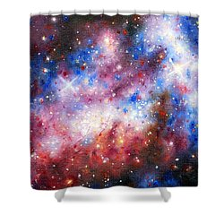 Space 1 Shower Curtain