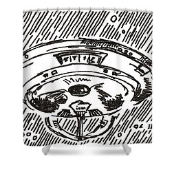 Space 2 2015 - Aceo Shower Curtain
