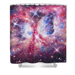 Space 2 Shower Curtain