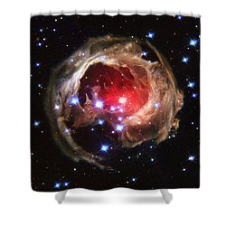 Space - 838 Shower Curtain by Paul W Faust -  Impressions of Light