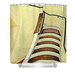 Space Geometry #1 Shower Curtain