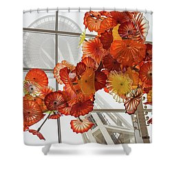 Space Needle And Chihuly Shower Curtain