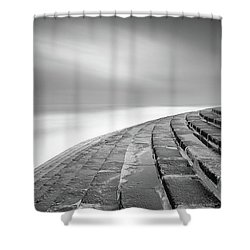 Shower Curtain featuring the photograph Space Ship  by Bruno Rosa