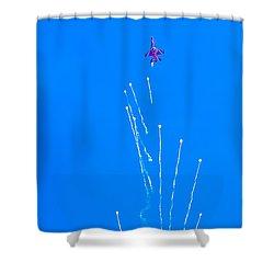 Spacious Shower Curtain