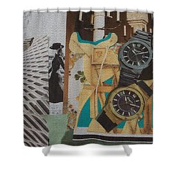 Spain Collage Shower Curtain