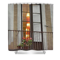 Spanish Siesta Shower Curtain