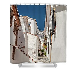 Spanish Street 1 Shower Curtain
