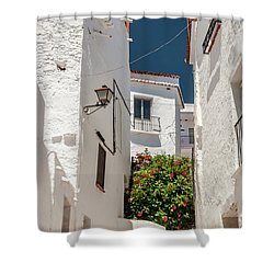 Spanish Street 2 Shower Curtain