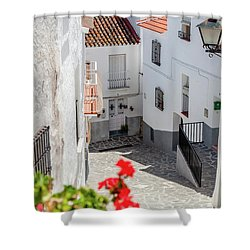 Spanish Street 3 Shower Curtain