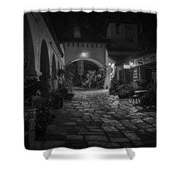 Spanish Village Shower Curtain