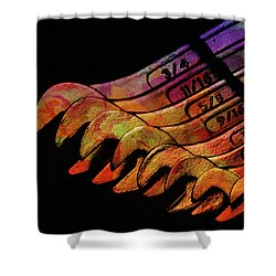 Spanners 01 Shower Curtain