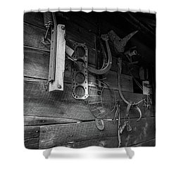Spare Parts Shower Curtain
