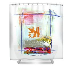 Spare Parts#1 Shower Curtain by Jane Davies