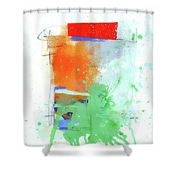Spare Parts#3 Shower Curtain by Jane Davies
