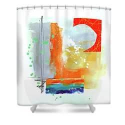 Spare Parts#4 Shower Curtain by Jane Davies