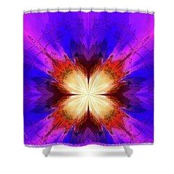 Spark A Fire Shower Curtain