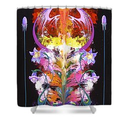 Spark Of Nature Shower Curtain by Alan Johnson