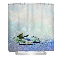 Shower Curtain featuring the photograph Sparkling by Aimelle