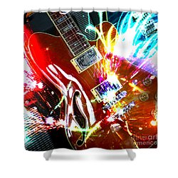 Shower Curtain featuring the photograph Sparks Fly by LemonArt Photography